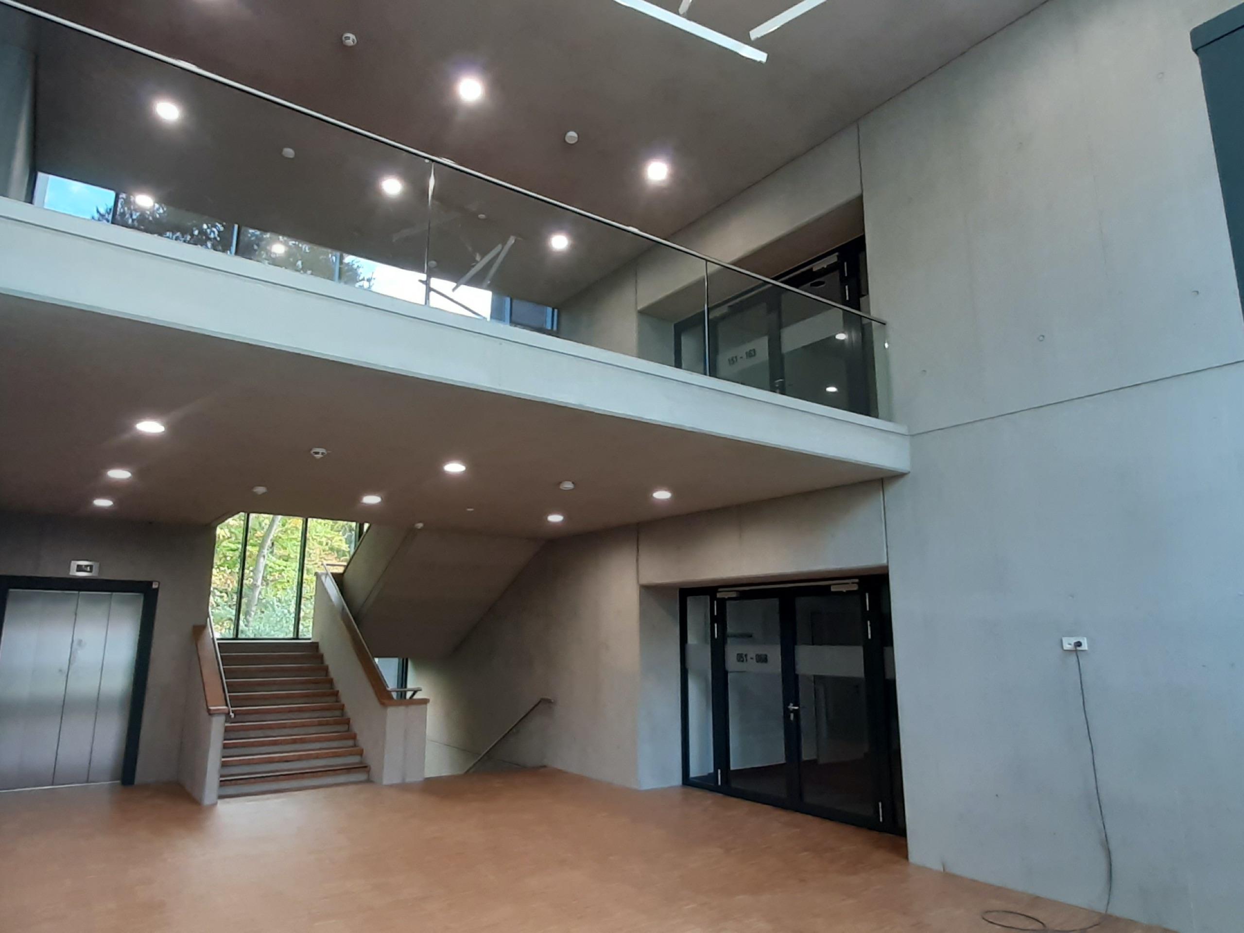 Canisius Campus Dortmund Betonkosmetik nachher 2
