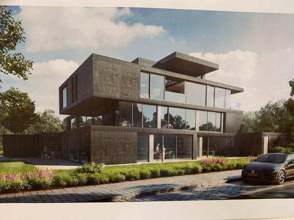 Halsdorfer Sichtbetonfassade Villa